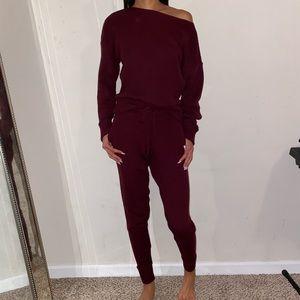 PLT burgundy set